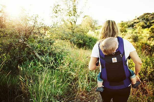 The back carry: safe, easy & practical
