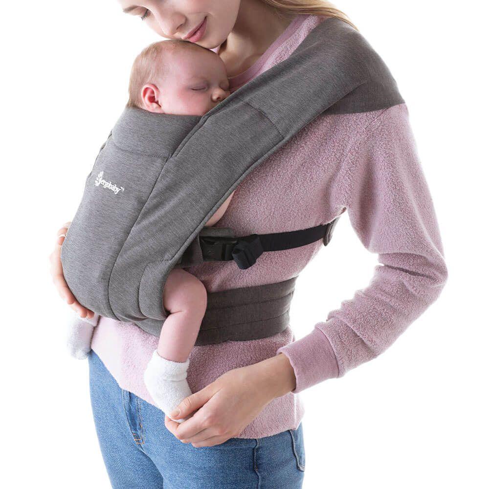Ergobaby Embrace Newborn Carrier: Heather Grey